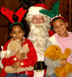 Santa with the Children